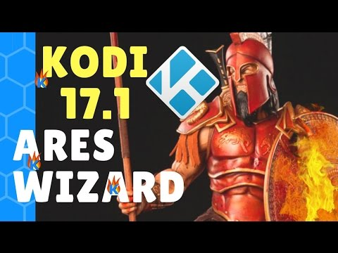 Install Kodi Ares Wizard 18 3, 18 1, 17 6, and get pin using