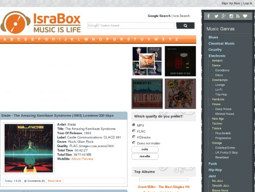 Mp3boo : Free Music download sites